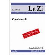 Codul muncii, actualizat la 05.01.2010. Editia 8.