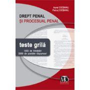Drept penal şi procesual penal - teste grilă