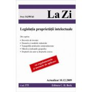 Legislatia proprietatii intelectuale (actualizat 10.12.2009).