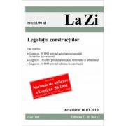 Legislatia constructiilor (actualizat la 10.03.2010)