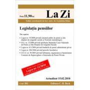 Legislatia pensiilor (actualizat la 15.02.2010)
