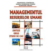 Managementul resurselor umane - Sinteze, grile, studii de caz