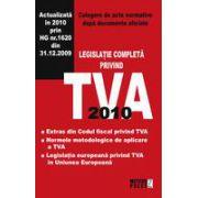 TVA 2010 Culegere de acte normative