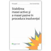 Stabilirea masei active și a masei pasive în procedura insolvenței