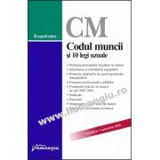Codul muncii şi 10 legi uzuale  Actualizat 1 septembrie 2010