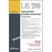 Legea privind procedura insolvenţei şi 9 legi uzuale  Actualizat 1 septembrie 2010