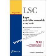 Legea societăţilor comerciale şi 6 legi uzuale  Actualizat 1 septembrie 2010