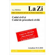 Codul civil si Codul de procedura civila (actualizat la 25.11.2010).