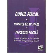 Codul fiscal - Norme de aplicare - Procedura fiscala  2011