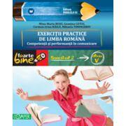EXERCITII PRACTICE DE LIMBA ROMANA. Competenta si performanta in comunicare. Semestrul II - Clasa a V-a  FOARTE BINE