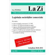 Legislatia societatilor comerciale (actualizat la 20.01.2011).