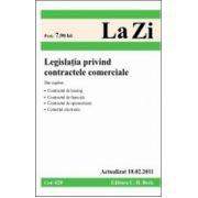 Legislatia privind contractele comerciale (actualizat la 10.02.2011).