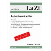 Legislatia constructiilor (actualizat la 1.05.2011).