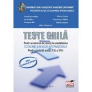 Teste grila pentru examenul de licenta la specializarea Economie si afaceri internationale