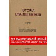 Istoria Literaturii Romanesti vol 1