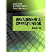 Managementul Operatiunilor. Editia a V-a