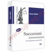 Succesiuni. Devolutiunea succesorala