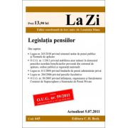 Legislatia pensiilor.