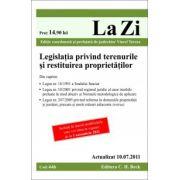 Legislatia privind terenurile si restituirea proprietatilor