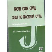 Noul cod civil si codul de procedura civila. Texte actualizate : 29.08.2011