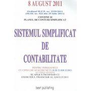 Sistemul simplificat de contabilitate- 08.08.2011