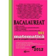 Bacalaureat 2012 matematica M1 - ghid de pregatire pentru examen