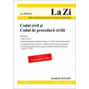 Codul civil si Codul de procedura civila (actualizata la data de 10 octombrie 2011)