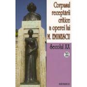 Corpusul receptarii critice a operei lui Mihai Eminescu. Sec XX. vol. 22-23, perioada august - septembrie 1919