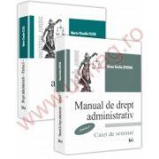Manual si curs de drept administrativ. Partea I, 2 volume.