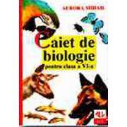 BIOLOGIE. CAIETUL ELEVULUI. CLASA A VI-A