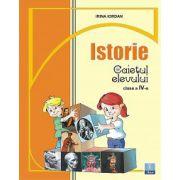 Caiet de istorie clasa a IV-a