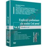 Explicatii preliminare ale noului Cod penal. Vol. II - Articolele 53-187