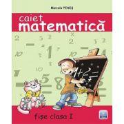 Caiet de matematica ANA clasa I fise