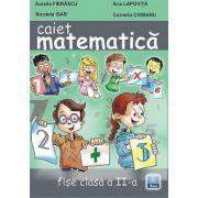 Caiet de Matematica clasa a II-a fise