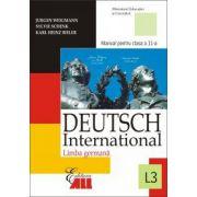 LIMBA GERMANA (L3). DEUTSCH INTERNATIONAL 3. MANUAL PENTRU CLASA A XI-A