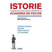 ISTORIE.TESTE PENTRU ACADEMIA DE POLITIE