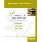 LITERATURA UNIVERSALA - Manual pentru clasa a XI-a