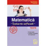Matematica - evaluarea nationala - Teste - 2012