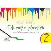 Educatie plastica pentru clasa a II-a - (caiet format mic) editia a II-a