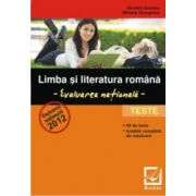 Limba si literatura romana - evaluarea nationala - Teste 2012