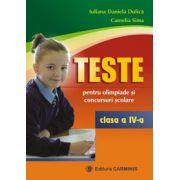 Teste pentru olimpiade si concursuri scolare Clasa a IV-a