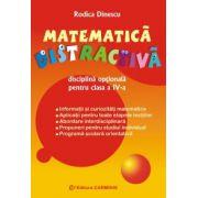 Matematica distractiva Disciplina optionala Clasa a IV-a