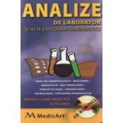 Analize de laborator si alte explorari diagnostice (CD inclus)