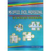 MS OFFICE: Excel Profesional cu Aplicatii In Economie