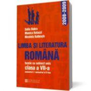 Limba şi literatura română.Tezele cu subiect unic pentru clasa a VII-a