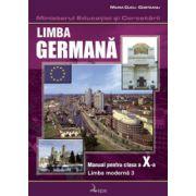 Limba germană. Manual pentru clasa a X-a, limba a III-a