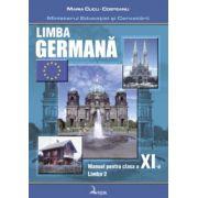 Limba germană. Manual pentru clasa a XI-a, limba a II-a