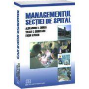 Managementul secţiei de spital