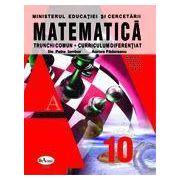 Matematica. Manual pentru clasa a X-a