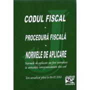 Codul Fiscal - Procedura Fiscala - Normele de aplicare- Actualizat : 06.02.2012
